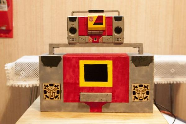 Raspberry PI Autobot Transformer
