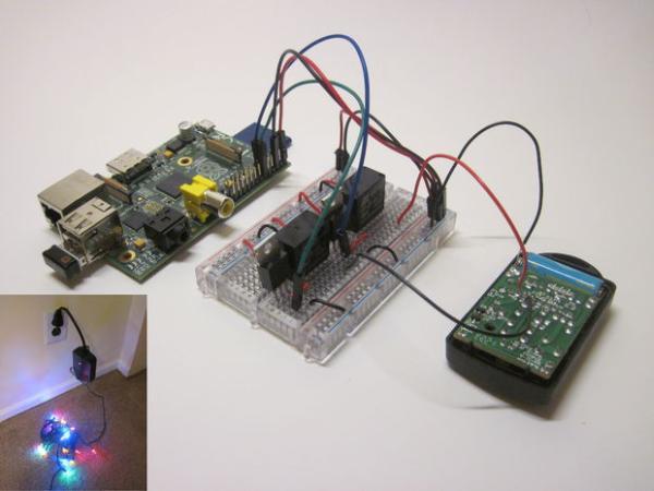 Wireless Christmas Light Timer with Raspberry Pi and Python