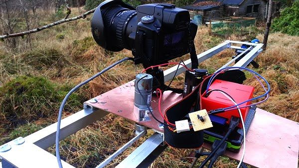 Raspberry Pi powered time lapse dolly