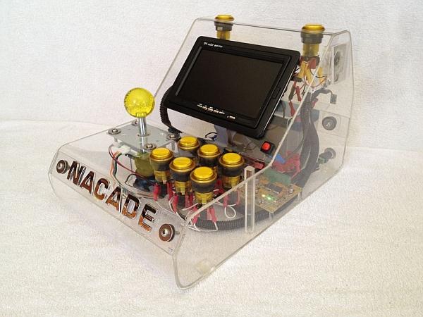 The Naked Raspberry Pi Arcade Machine
