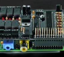 A Great I/O expansion Shield for RaspberryPi based on I2C