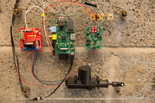 Bark Activated Door Opening System with Raspberry Pi