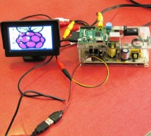 LOG Raspberry Pi with car monitor