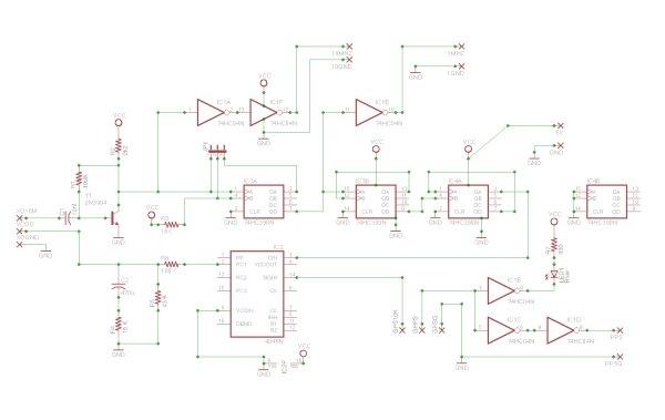 My GPS disciplined Rubidium OCXO Frequency Standard and NTP server project schemetic
