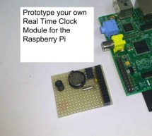 Prototype and configure your own Real Time Clock module for the Raspberry Pi ( Open Source Hardware and Software Configuration)