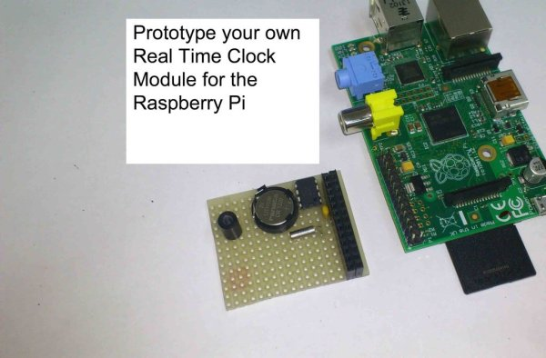 Prototype and configure your own Real Time Clock module for the Raspberry Pi