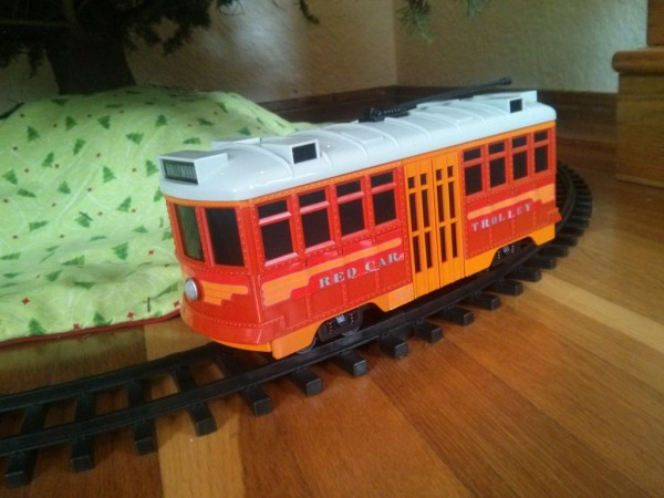 Raspberry Pi controlled Red Car Trolley