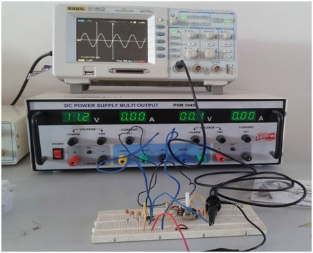 sawtooth wave generator using op amp 741 pdf