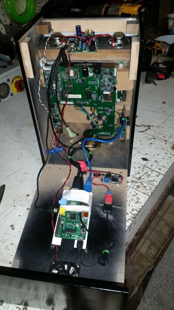 Mini Arcade Cabinet Project