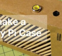Modelling a Raspberry Pi case – from Cardboard