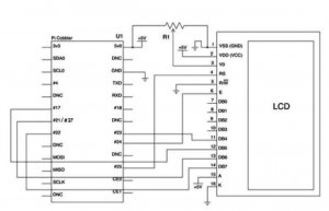 1. The Pi Plane Project schematic