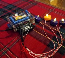 Autoadvent: Raspberry Pi controlled LED Advent candles