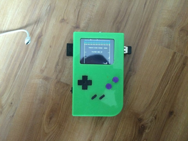 Building a Raspberry Pi Gameboy