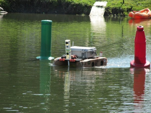 Cedarville University builds RoboBoat vehicle with 4 Raspberry Pi's, MATLAB and Simulink