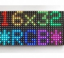 Connecting a 16×32 RGB LED Matrix Panel to a Raspberry Pi