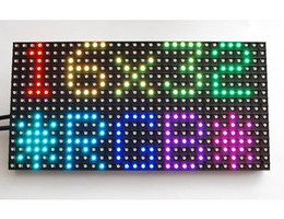 Connecting a 16x32 RGB LED Matrix Panel to a Raspberry Pi