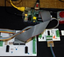Driving a bi-polar stepper motor with the SN754410NE double H-bridge and a Raspberry Pi