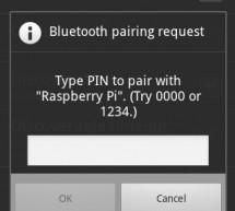 Emulate a Bluetooth keyboard with the Raspberry Pi