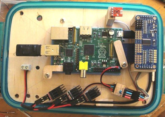 Fish Feed Time – Wireless Socket Control with the Raspberry Pi