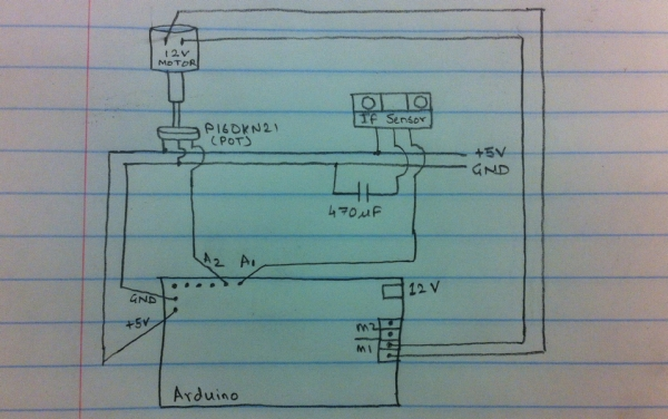 Group 9 – Prototype I Final Report Remote Piano Pedal Controller Schematic