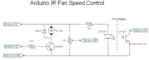 Hooked on Arduino & Raspberry Pi schematic