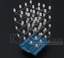 ICStation 4X4X4 Light Cube Kit for Arduino UNO
