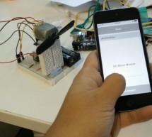 IOT: iPhone Controlled Mini Fan