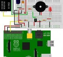 Interfacing EM-18 RFID reader with Raspberry Pi