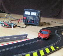 Internet controlled SCALEXTRIC