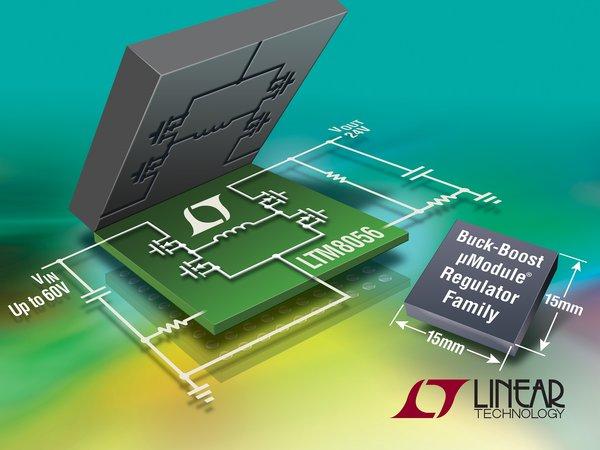 LTM8056 - 58VIN, 48VOUT Buck-Boost μModule Regulator