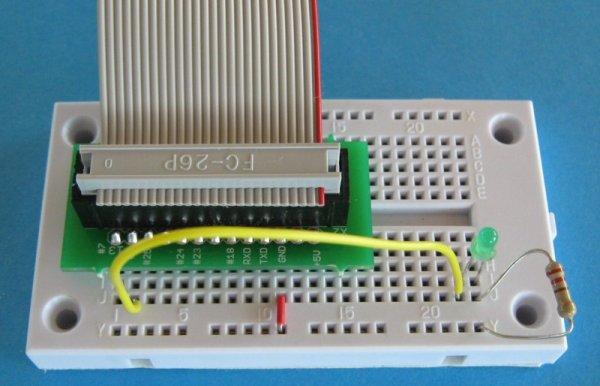Morse Code on an LED Board