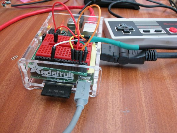 NES Controller on the Raspberry Pi
