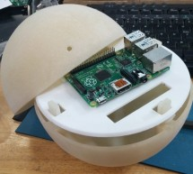 Pi Ball – A Spherical and Interactive Raspberry Pi 2 Case