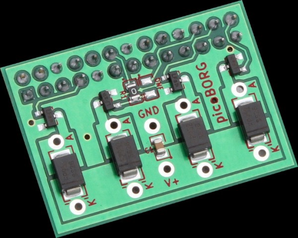 PicoBorg - Control small motors from your Raspberry Pi Board