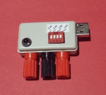 Pocket Voltage Supply: A USB Powered Variable Voltage Supply