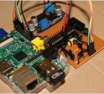 Raspberry Pi – homemade level converter for serial communication rs232 3.3 volts to 5 volts TTL for AVR microcontroller