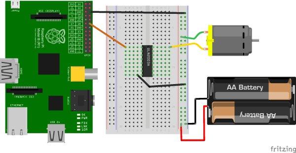 Raspberry Pi Control Motor Speed