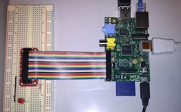 Raspberry Pi GPIO and LED