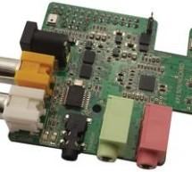 Raspberry Pi gains Wolfson HD audio card