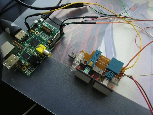 Raspberry Pi in a NES Case - Part 1 - Wiring up the front panel and external connectors