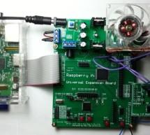 Raspberry Pi with Relay I/O Board