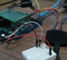 Reading analogue data on a Raspberry Pi using MCP3002