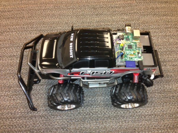 Remote Controlling a Car over the Web. Ingredients Smartphone, WebSocket, and Raspberry Pi.