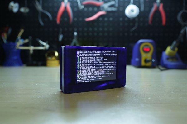 Touch Pi Portable Raspberry Pi