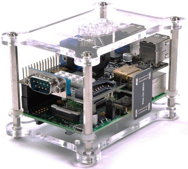 ULN2803 8-channel RC Servo Port for Raspberry Pi