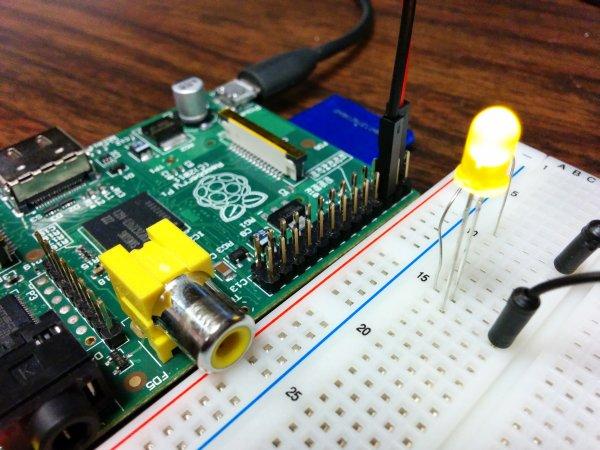 Using the Raspberry Pi GPIO with Python