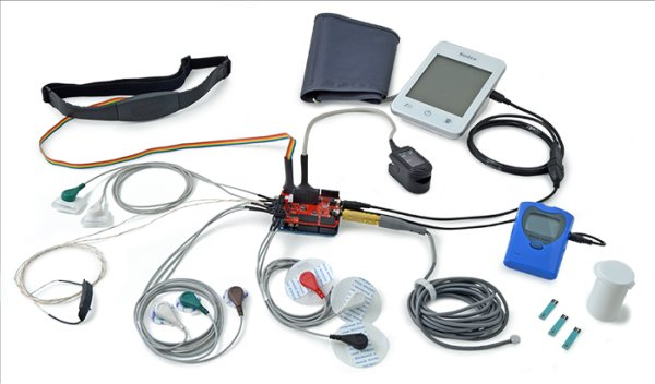 e-Health Sensor Platform V2.0 for Arduino and Raspberry Pi