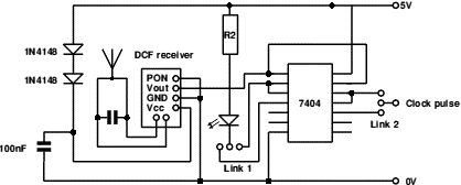 An MSF Atomic Clock for the Raspberry Pi Schematic