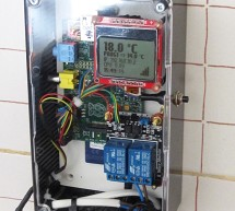 Programmable Thermostat with the Raspberry Pi