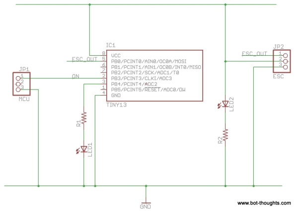 Prototyping Circuit Boards Schematic